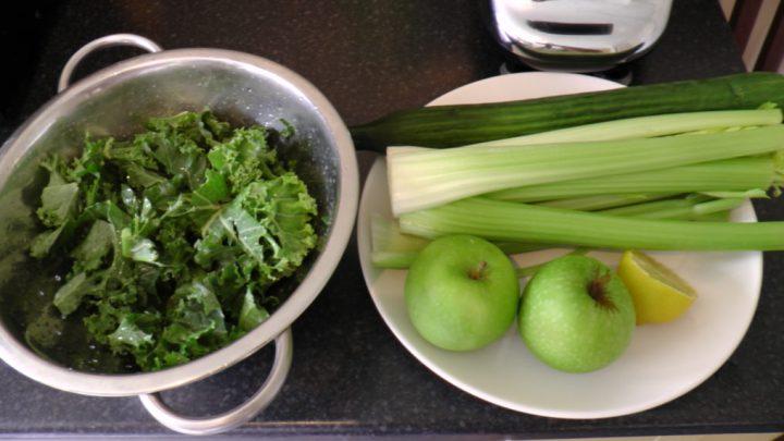 juicing celery cucumber